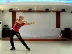 银盘施工局广场舞《火火的爱》正反面舞蹈演示