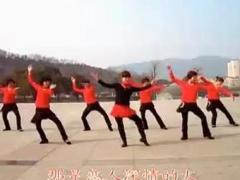 动动广场舞 《火火的爱》 舞队表演