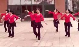 长沙中信舞蹈队广场舞《泉水叮咚响》