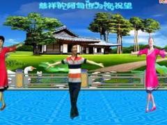红乔开心广场舞《回乡姑娘 》异地合屏 编舞制作六哥