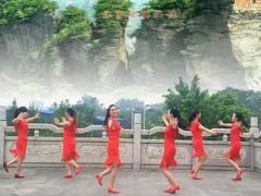 漓江飞舞广场舞 狐狸精 对跳恰恰 含背面分解教学