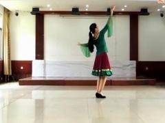 馨梅广场舞《北京的金山上》附教学版 制作 泉水叮咚