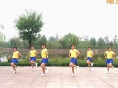 hehe大众健身队 雪莲 快乐舞步 含背面分解教学