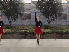 新风尚广场舞《这辈子只爱你》附教学 编舞:陈敏