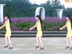 太湖一莲广场舞 死心塌地去爱你 简单步子舞 原创附分解教学