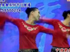 馨梅广场舞《十指紧扣心相守》团体版