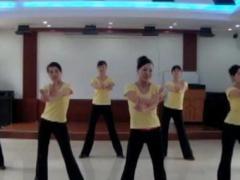 银盘施工局广场舞《最炫民族风》