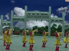 春英亚虎娱乐,亚虎娱乐app,亚虎777娱乐老虎机 姑娘走过的地方 藏族舞 正面