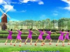 西安悠然广场舞 月亮姑娘 蒙古舞 正面+田益珍老师背面