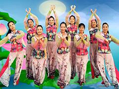 王梅广场舞 《荷塘月色》 含背面分解教学