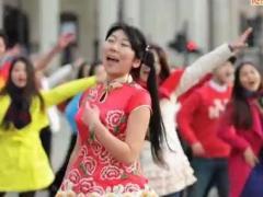王广成广场舞 《最炫民族风》 美国时代广场