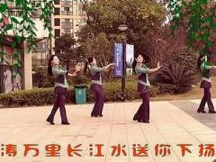 长沙中信舞蹈队广场舞《烟花三月下扬州》口令分解动作