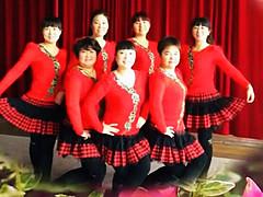 青儿广场舞 《花儿妹妹》 恰恰 含背面分解教学