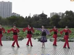 动动广场舞《秀恩爱》正反分解及背面示范