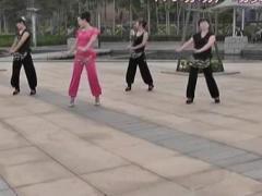 动动广场舞 《印度藏歌》 印度舞教学