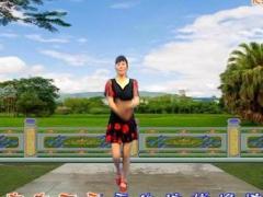 龙游红飞舞广场舞 DJ漂亮小妹 附正背面教学