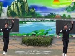 周周老师广场舞 中国味道 教学及背面演示