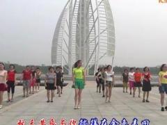 盛泽雨夜广场舞 《小苹果》 集体版 含口令及背面演示