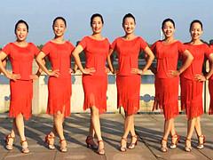 江西鄱阳春英广场舞 《我最爱的人你在哪里》 含背面分解教学