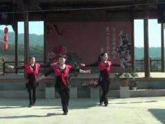 遂昌牡丹亭广场舞《我的玫瑰卓玛拉》