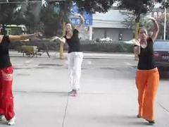 舞动旋律2007广场舞 《我们的钓鱼岛》