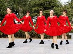 茉莉广场舞 《喜庆临门》 喜庆新年贺岁版 含教学