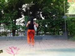 飞去来兮广场 街舞健身操 《荷塘月色》 含背面分解教学