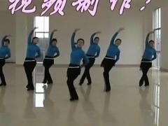 高安子君广场舞 《山里红》