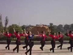 永州格格广场舞《爱上草原爱上你》