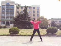雨中阳光广场舞 踏浪 健身舞含分解