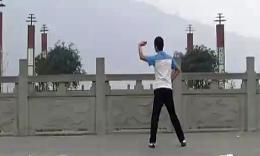 凤凰六哥广场舞《草原恋曲》附背面编舞聋哑人六哥