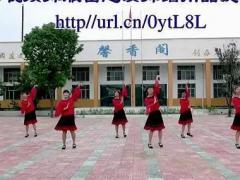 惠汝广场舞《歌在飞》集体舞