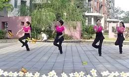 长沙中信舞蹈队广场舞《今生相爱》