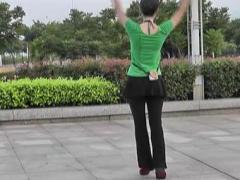 动动广场舞 《今生相爱》 正面背面分解视频