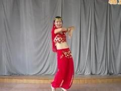 舞媚娘广场舞 印度新娘
