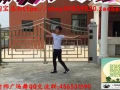周周老师广场舞 康巴汉子我的情郎 背面演示及六哥分解