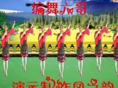 凤之韵广场舞 雪山姑娘 编舞六哥 演示制作凤之韵