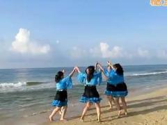 广西柳州彩虹健身队群活动《踏浪》广东阳江海陵岛