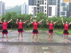 重庆叶子广场健身舞原创 《香巴拉情歌》 附教学