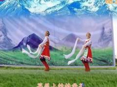 西安悠然亚虎娱乐,亚虎娱乐app,亚虎777娱乐老虎机 卓玛 双人藏族舞 正背面