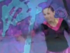 紫蝶广场舞《洗衣歌》