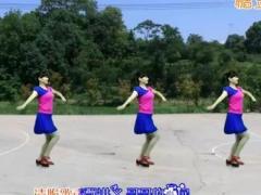 益馨广场舞 《纳西情歌》 改编幽谷百合 附正反面教学 民族舞