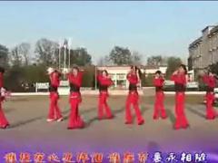 惠汝广场舞 《一曲红尘》 集体舞