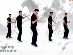 王广成健身舞 中国马 广场舞含教学