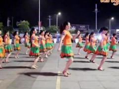 温州燕子广场舞《心爱的姑娘》自由舞32步