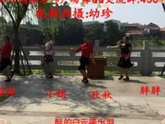 """周周老师广场舞 自在美 """"八一""""献礼 团队版"""