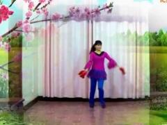 益馨广场舞 《新年快乐》 手绢版含背面演示