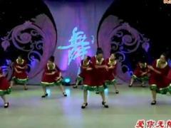 馨梅广场舞《爱你无悔三千年》团体版