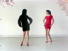 阿采广场舞 粉红色的回忆 双人对跳 含教学