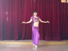 舞媚娘广场舞印度风情,又名东巴佳丽、西域传说,编舞:丽达